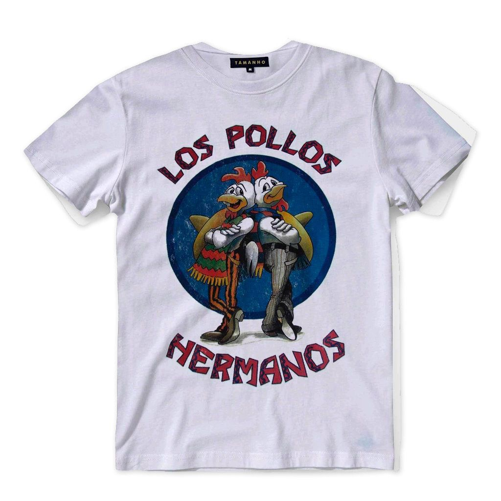 Camisa Los Pollos Hermanos Breaking Bad Heisenberg Original