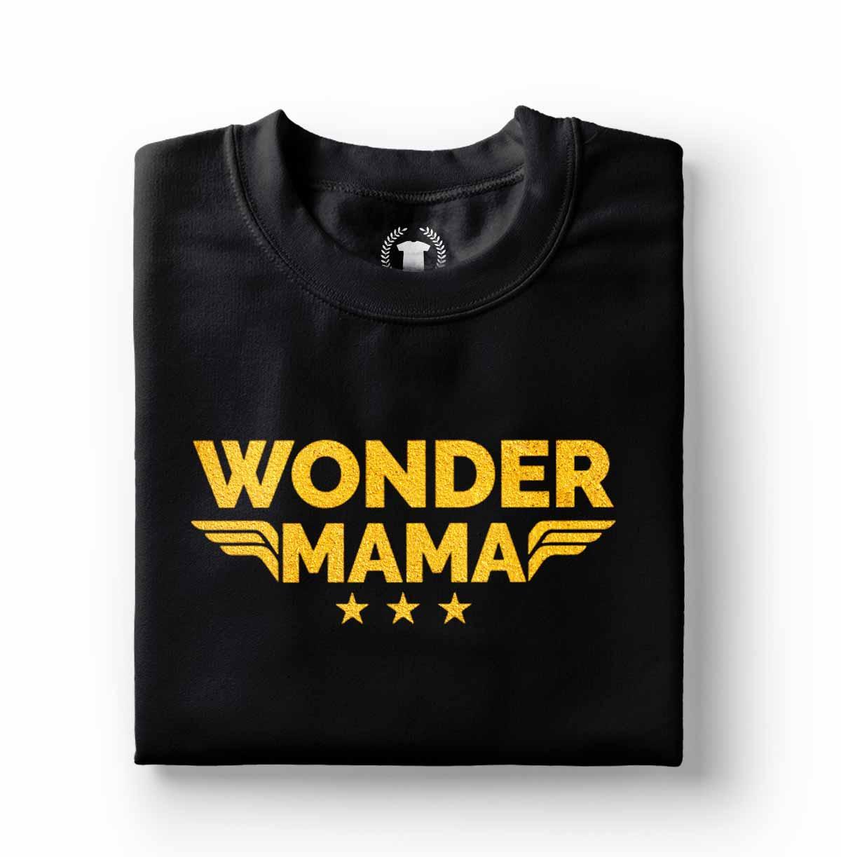 camisa mae maravilha super heroi