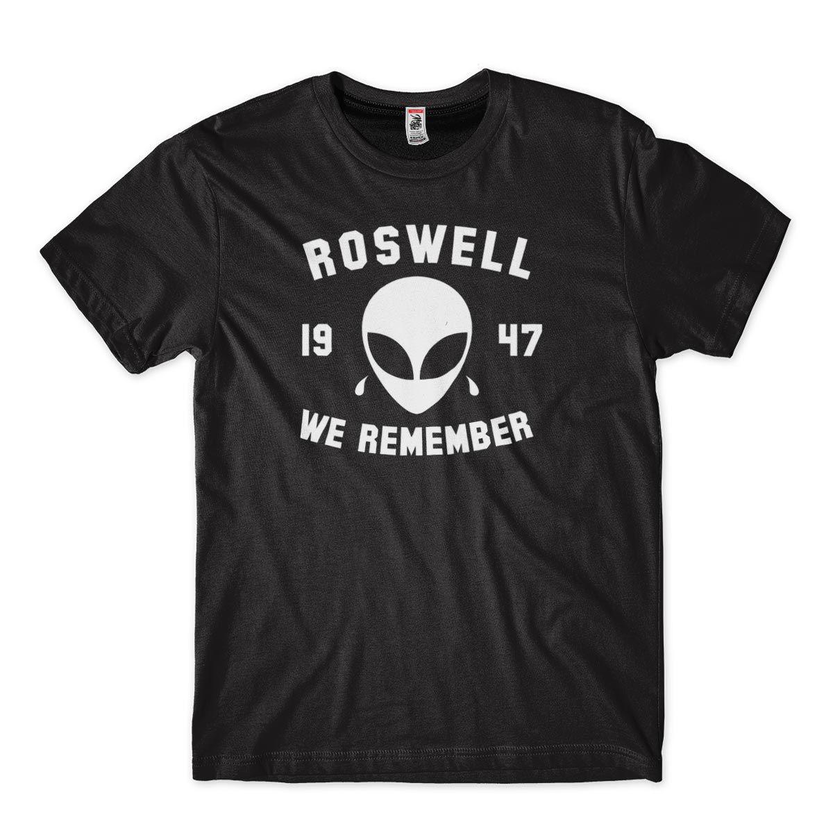 Camisa Masculina Alien Roswel 1947 We Remember