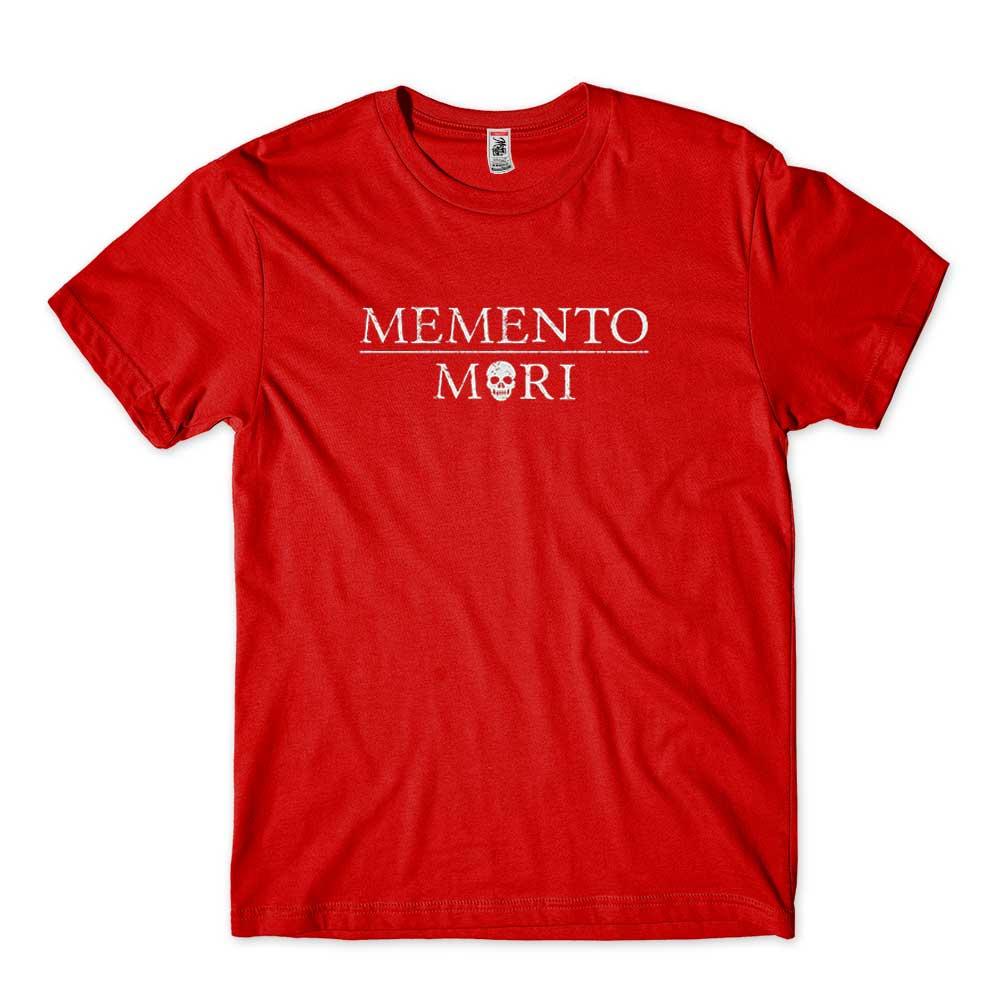 camisa memento mori lembre-se de que voce vai morrer