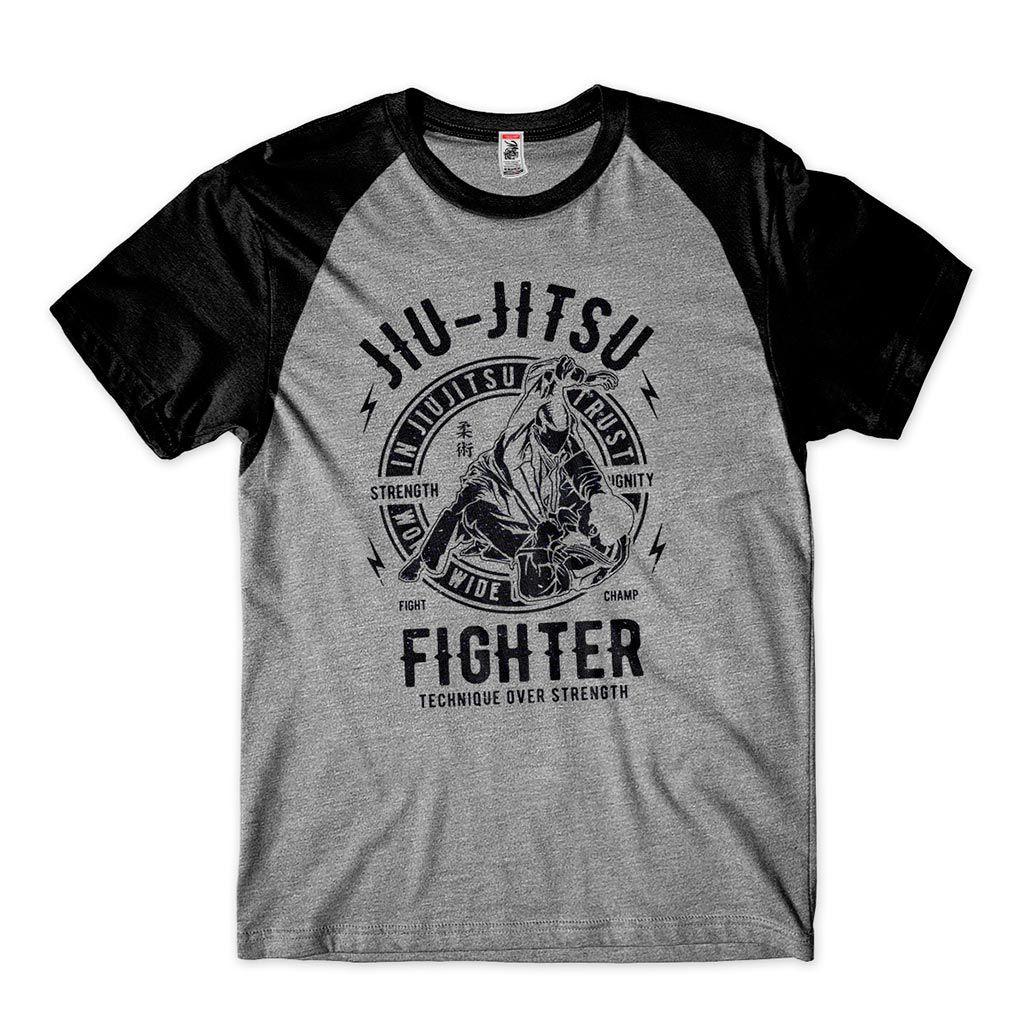 camisa para treino de jiujitsu triangulo