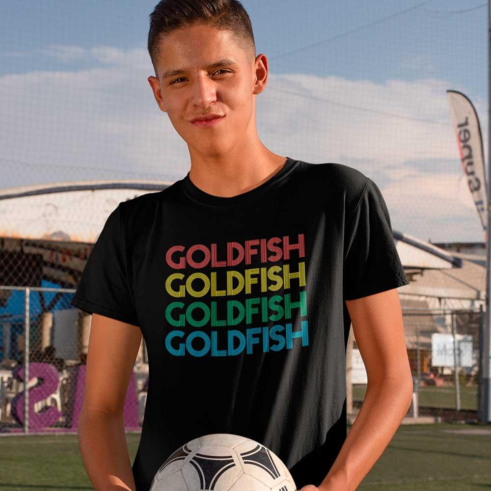 Camisa Preta Ted Lasso goldfish goldfish