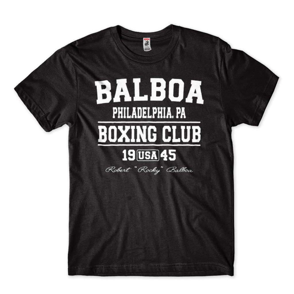 Camisa Rocky Balboa Masculina Preta Butcher Billy