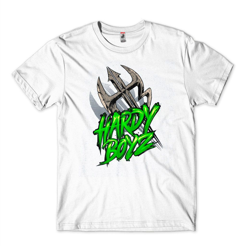 Camisa The Hardy Boyz Leaning WWE Smackdown Masculina