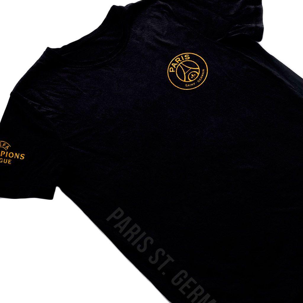 camisa Time PSG Blusa Paris Saint Germaint Camiseta preta masculina 2018