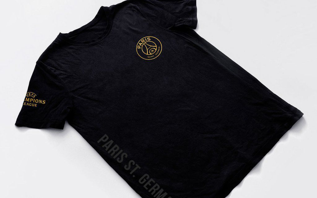 camisa Time PSG Blusa Paris Saint Germaint Camiseta preta masculina 2018 Tam M