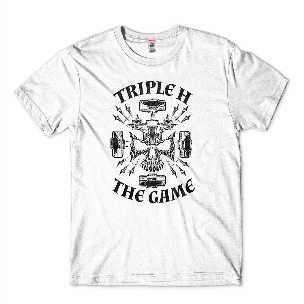 Camisa Triple H The Game WWE RAW Masculina