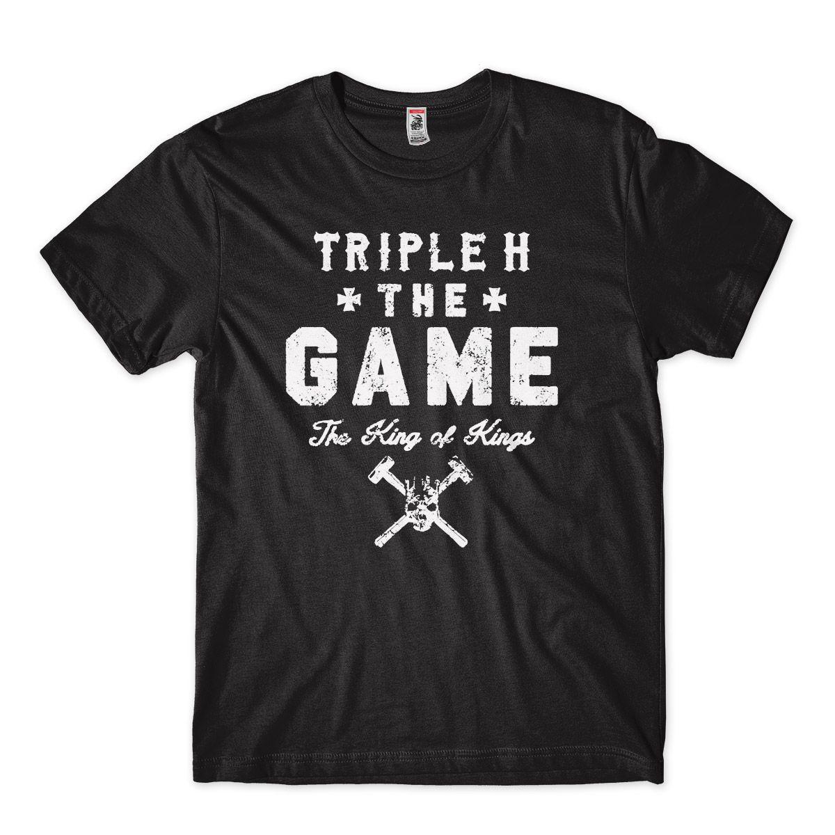 Camisa Triple H Wwe Wrestling The Game King Of Kings