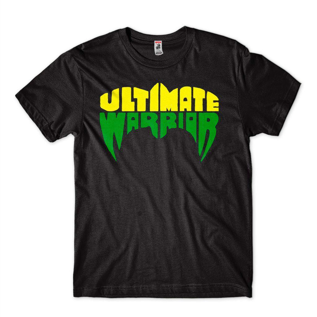 Camisa Ultimate Warrior WWE Pro Wrestling Justice Hellwig