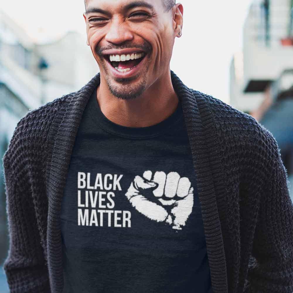camisa vidas negras importam preta