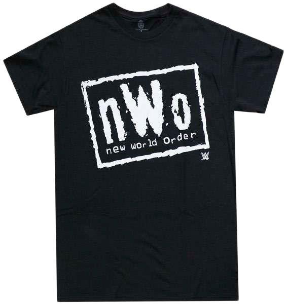 Camisa Wwe NWO New World Order Camiseta Lutadores Masculina