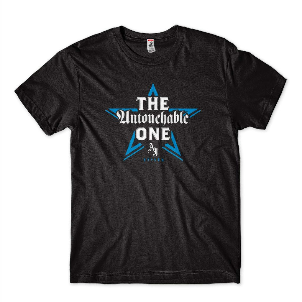 Camisa WWE superstars The Untouchable AJ styles RAW