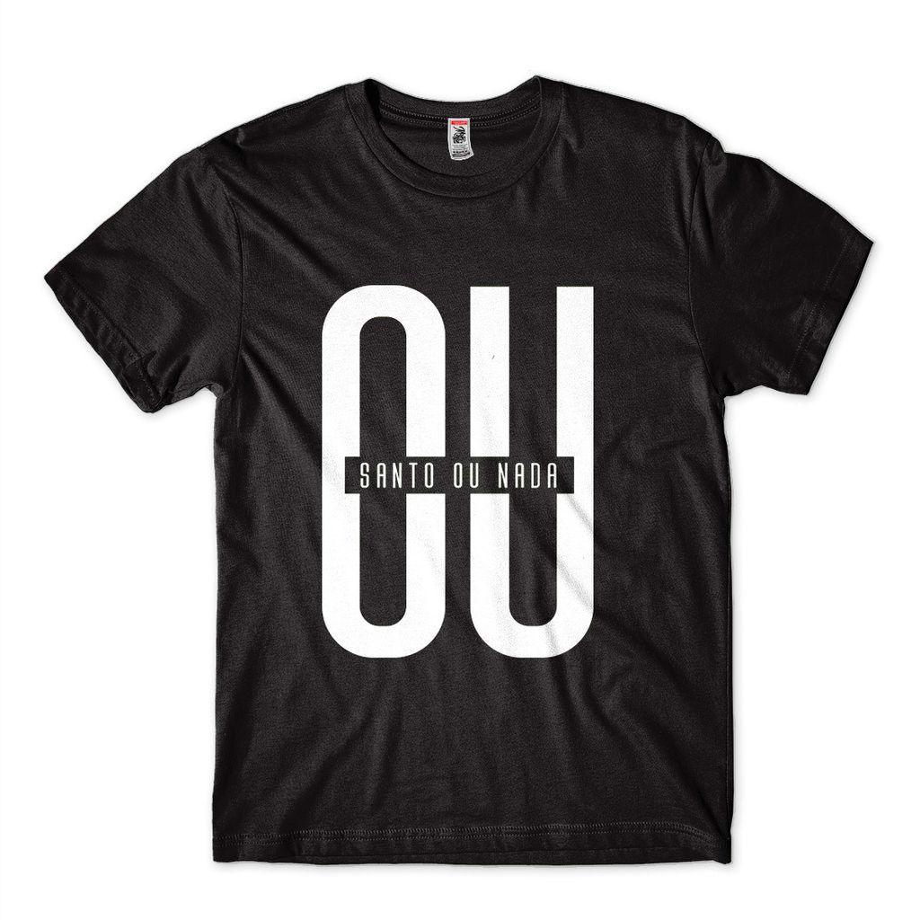 Camisas Evangélicas Para Jovens Cristaos Ou Santo Ou Nada