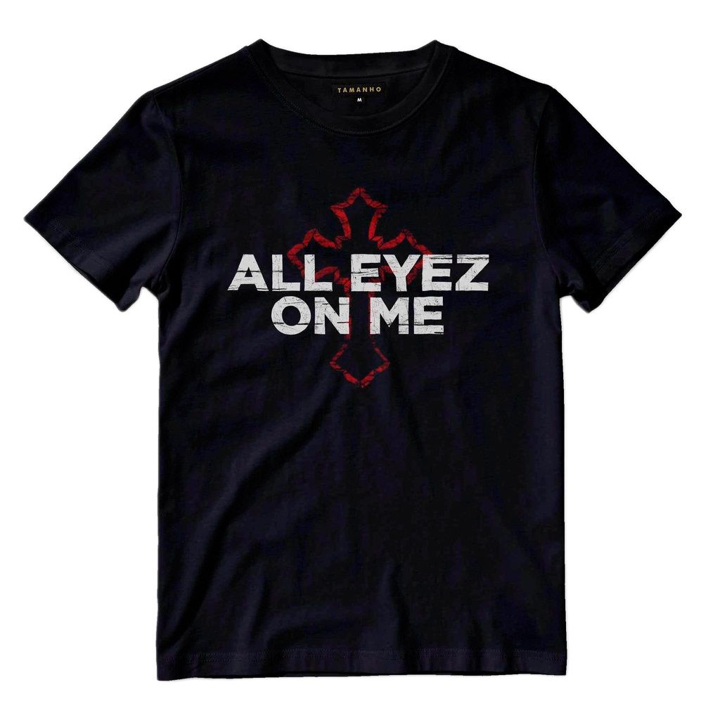 camiseta all eyez on me preta camisa hip hop king barata