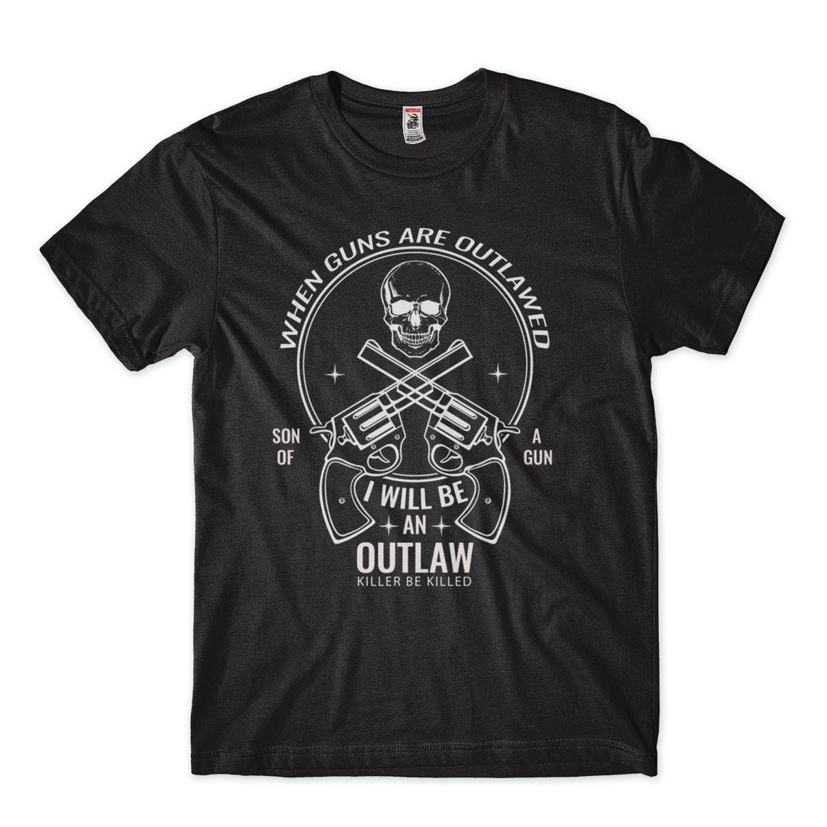 camiseta armamentista com caveira masculina  Preto