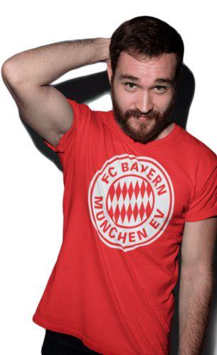 camiseta bayern de munique masculina vermelha UEFA