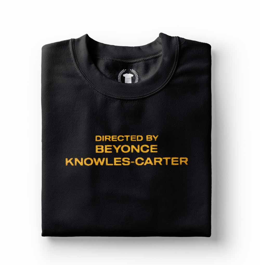 Camiseta Beyonce Directed By Beyonce Preto