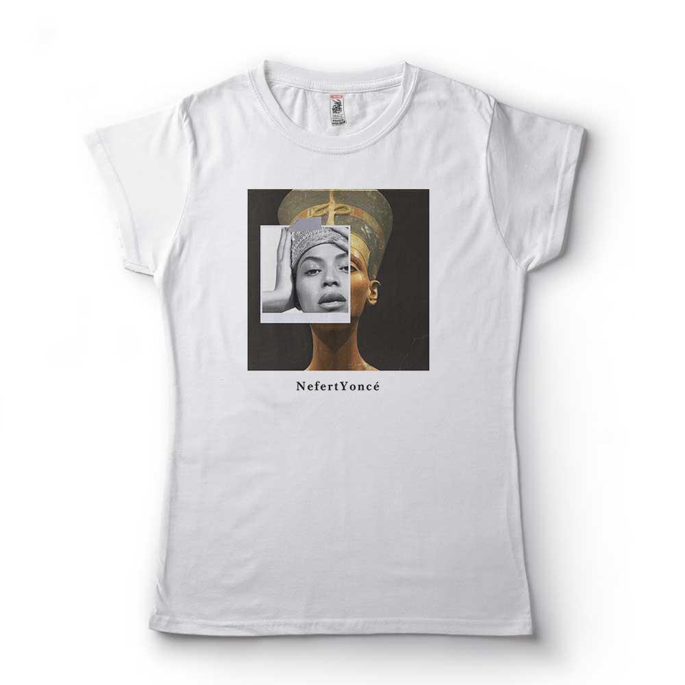 camiseta beyonce rainha egipcia nefertiti algodao