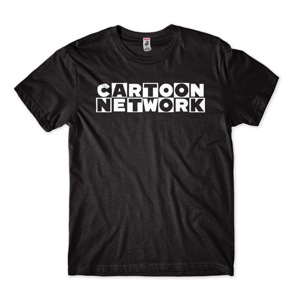 Camiseta Cartoon Network Masculina Preta Desenho Animado