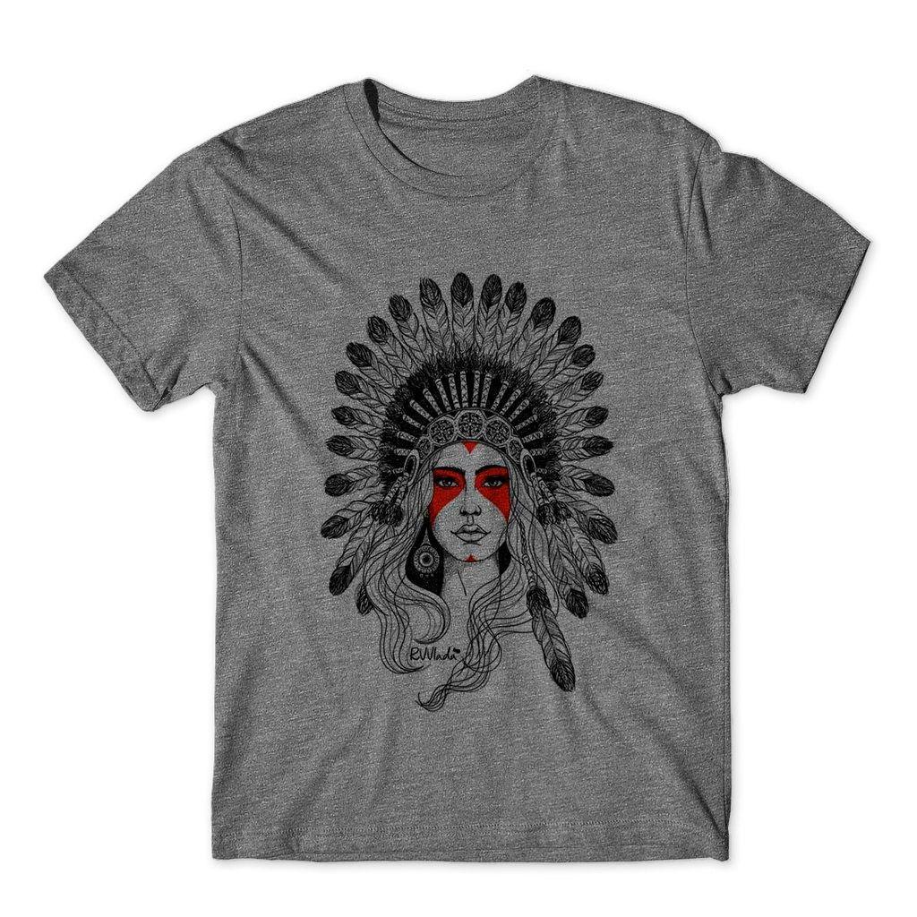 Camiseta caveira mexicana masculina india camisa estilosa