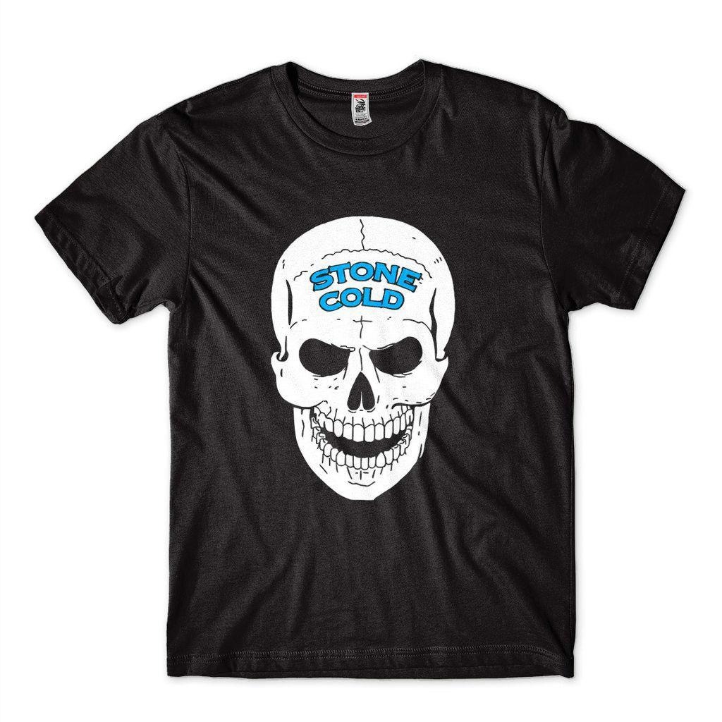 Camiseta Caveira Stone Cold Pro Wrestling WWE Steve Austin