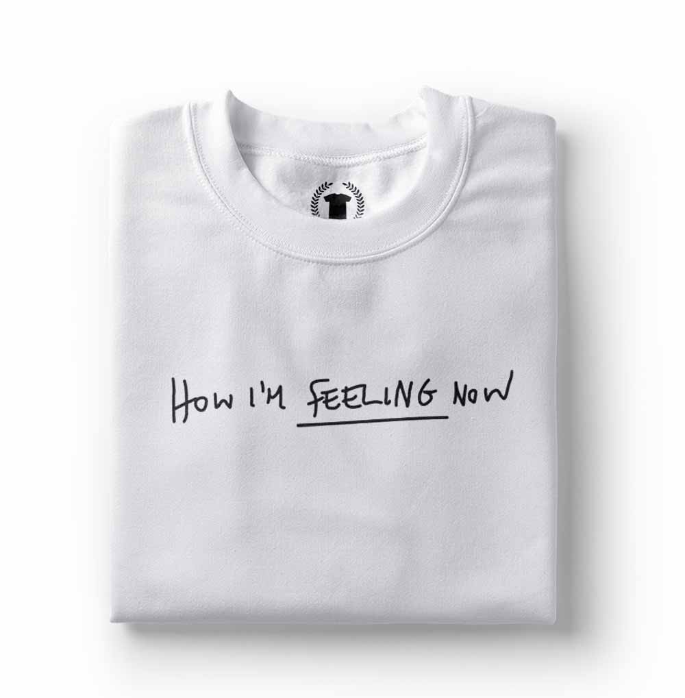 Camiseta charli xcx How Im Feeling Now branca