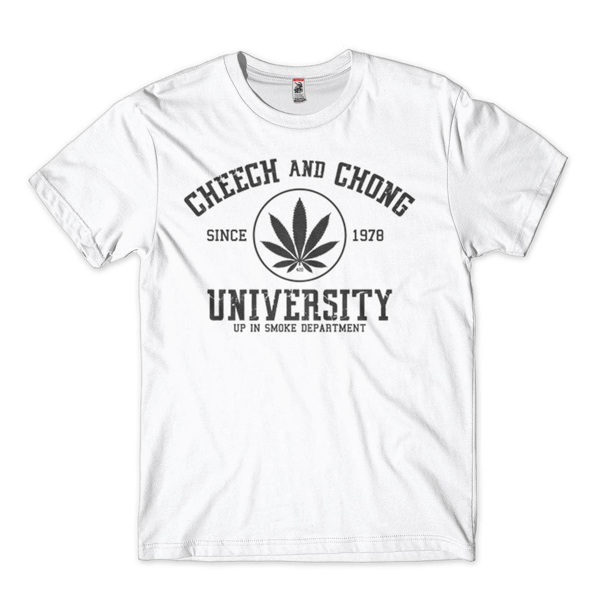 Camiseta Cheech And Chong Masculina tamanho G Branca