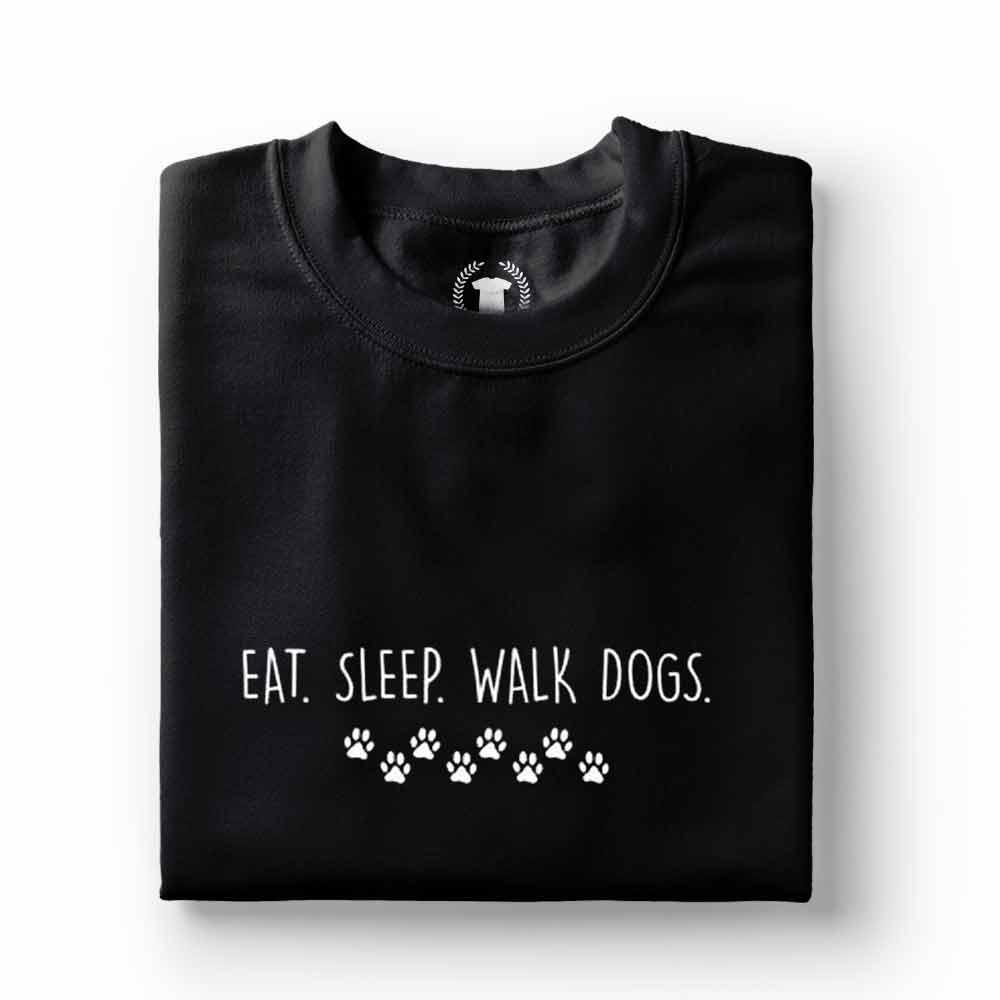 camiseta comer dormir passear com meu cachorro