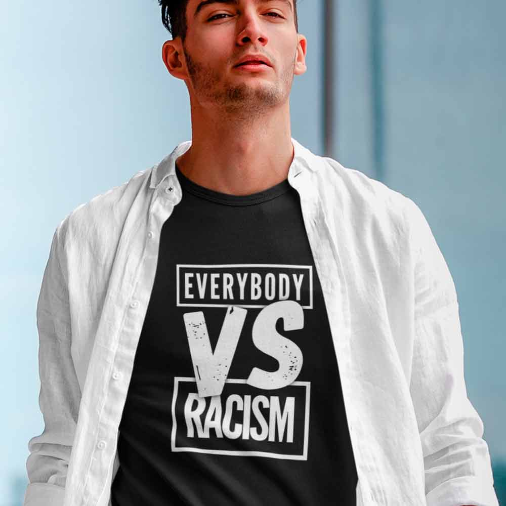 camiseta contra o racismo
