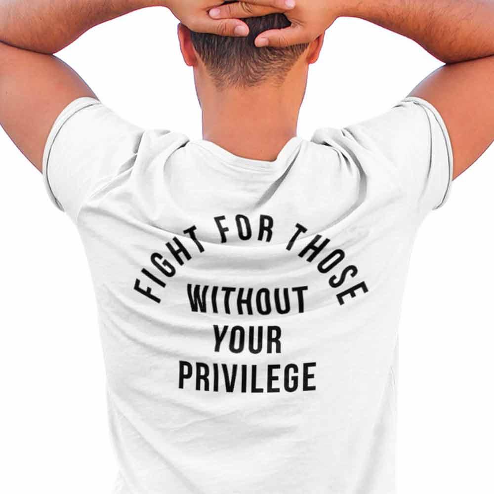 camiseta contra privilegios progressita