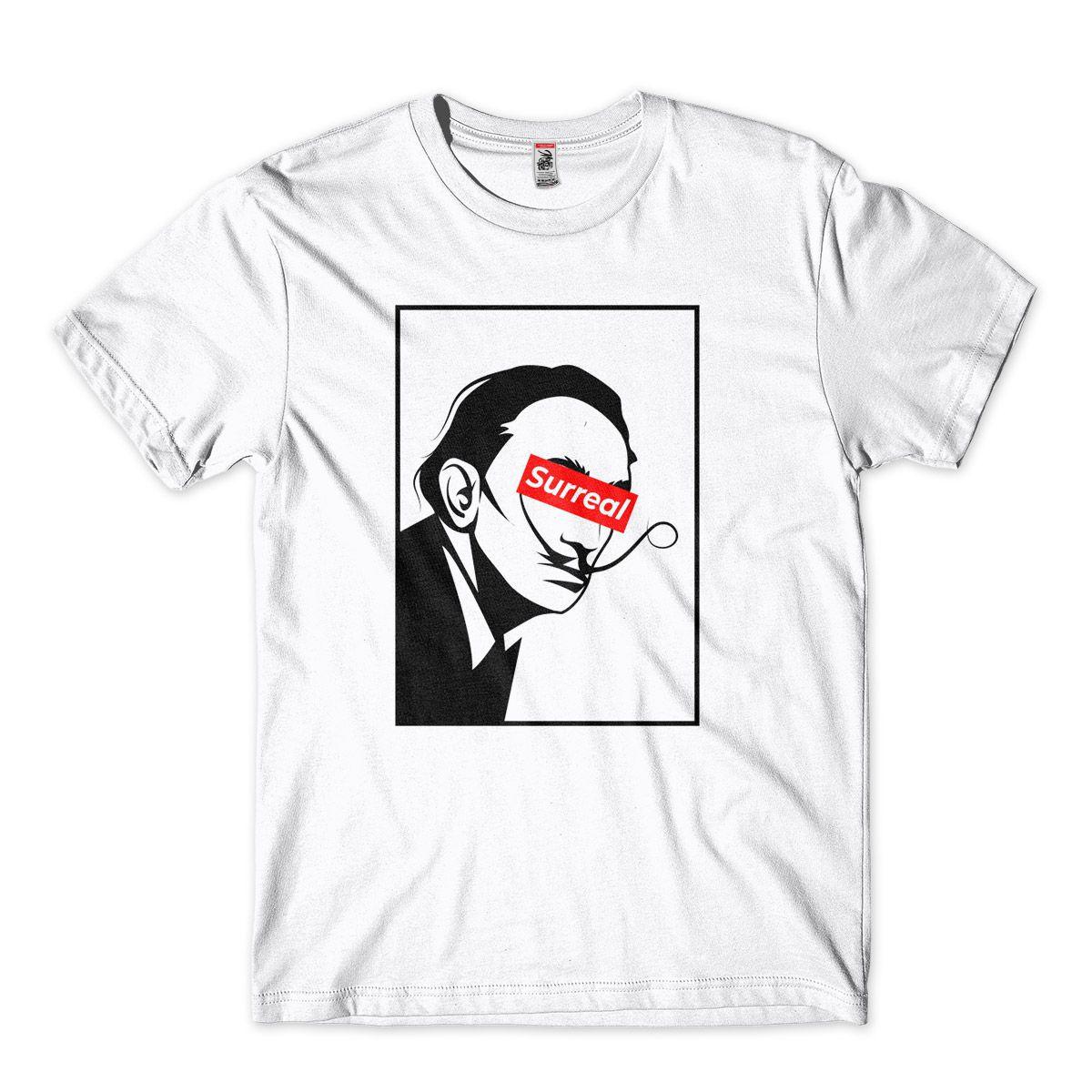 Camiseta Dali Supreme Satira Surreal