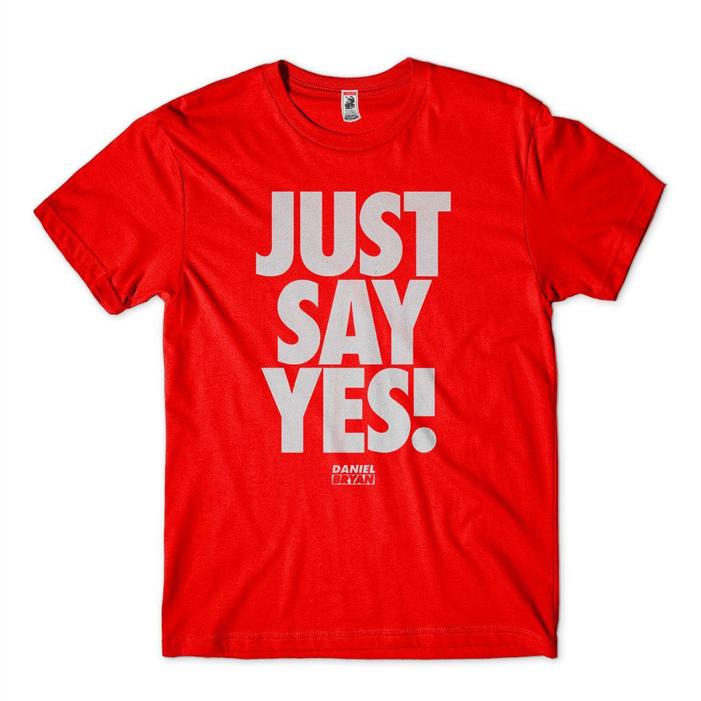 Camiseta Daniel Bryan Just Say Yes Smackdown