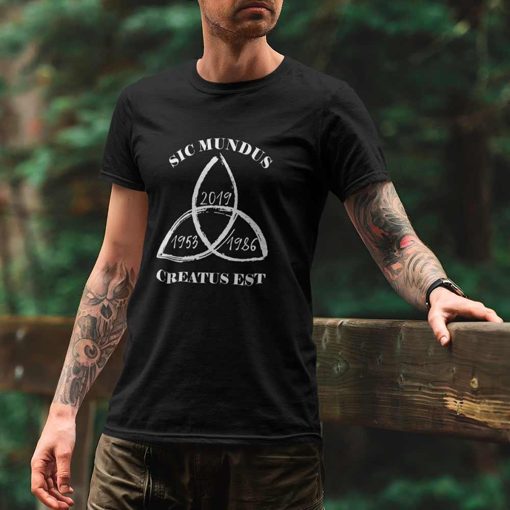 Camiseta Dark Sic Mundus Creatus Est