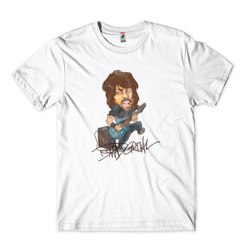 camiseta dave grohl foo fighters