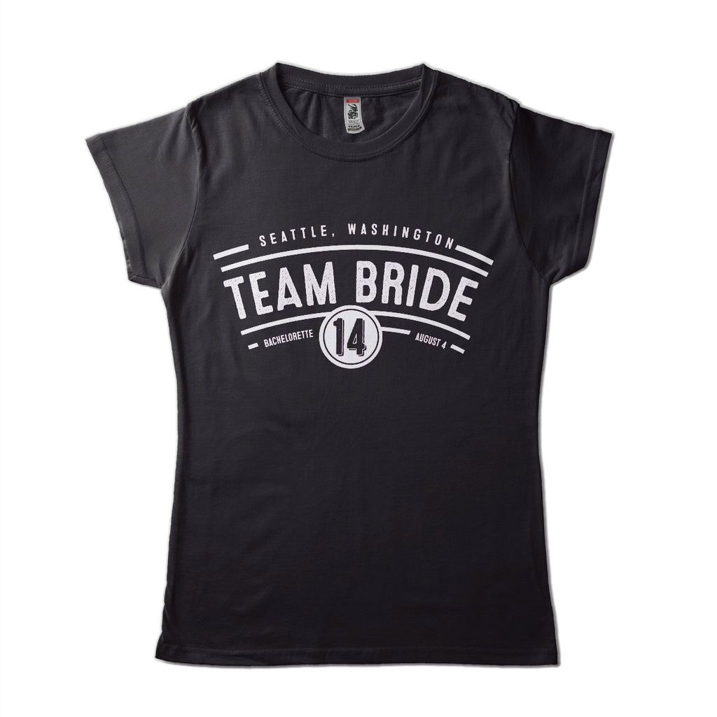 camiseta despedida de solteira team bride noiva casamento