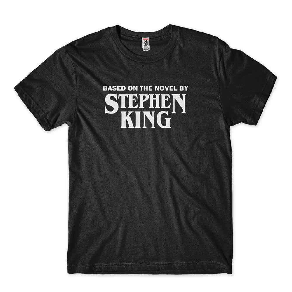 camiseta diretor de cinema stephen king preta
