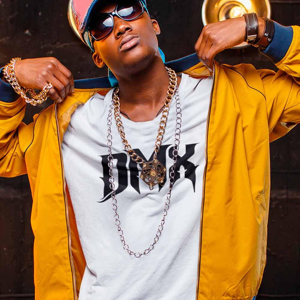 Camiseta DMX rapper americano branca