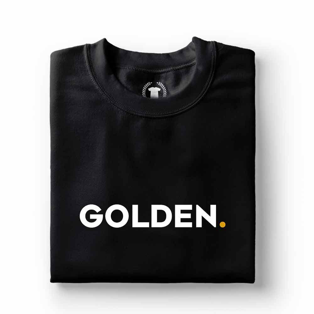 camiseta dono de cachorro golden preta