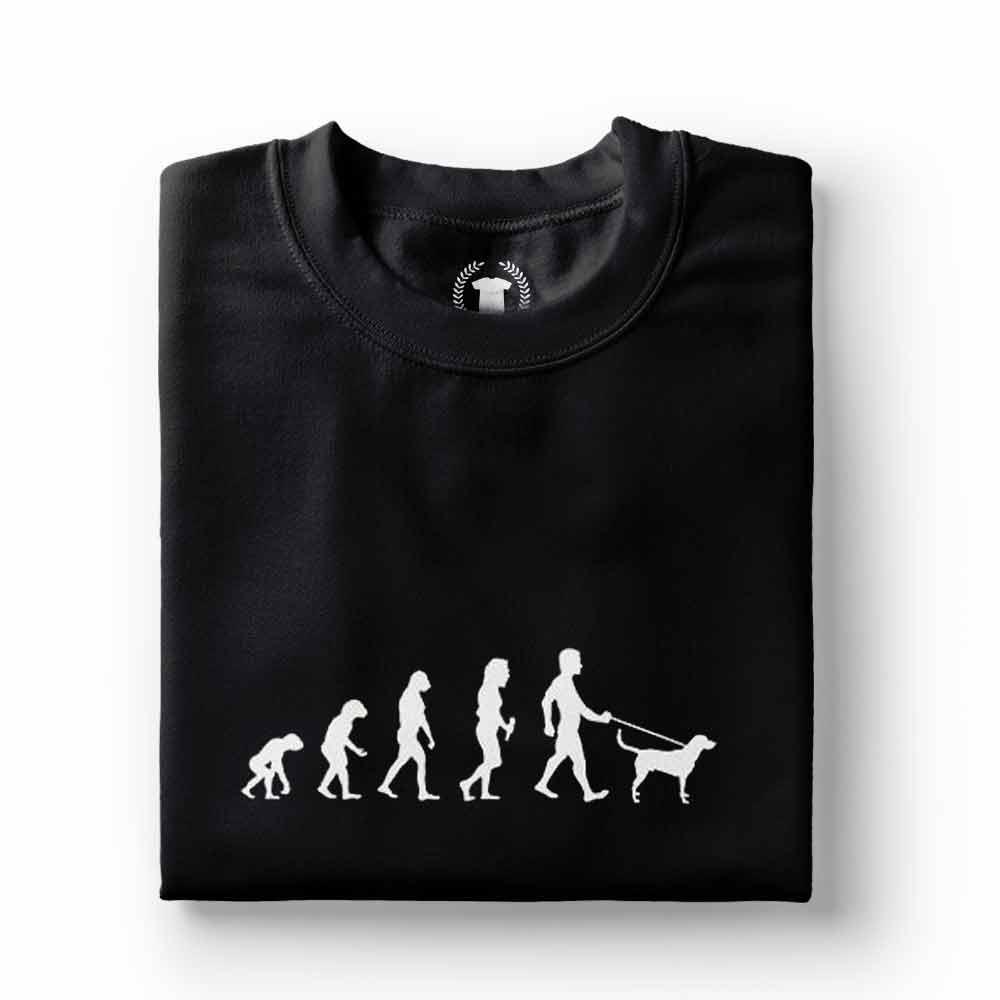 camiseta dono de cachorro preta