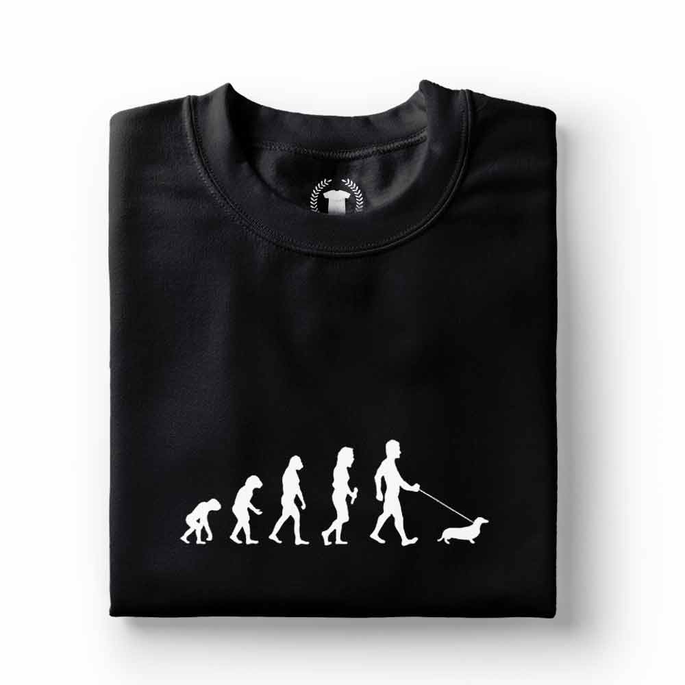 Camiseta dono de Dachshund basse preta