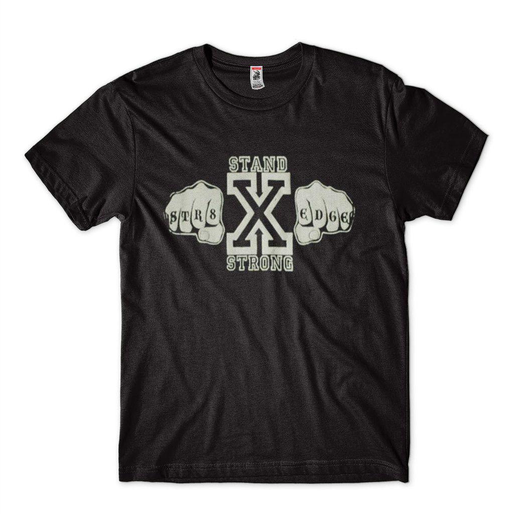Camiseta Edge Masculina Preta Stand Strong Camisa Wwe
