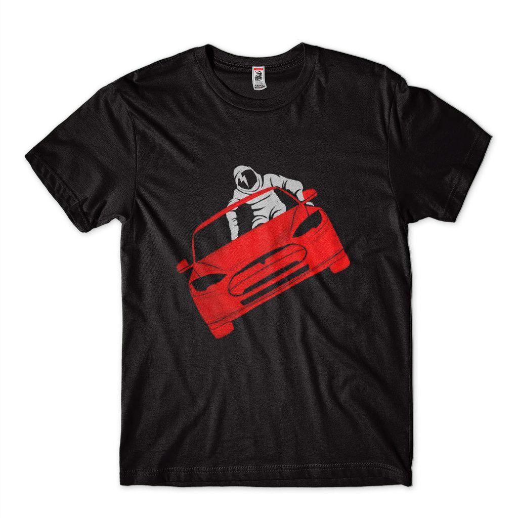 camiseta elon musk spacex astronauta tesla no espaco