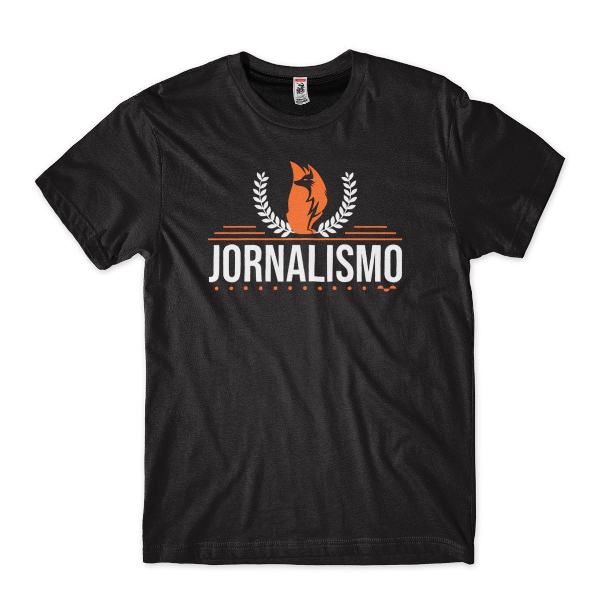 camiseta escrita jornalismo faculdade formatura