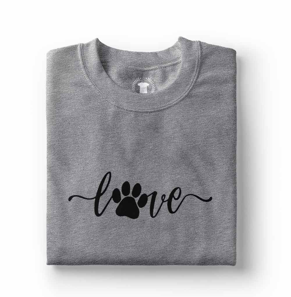 camiseta eu amo cachorro love dog