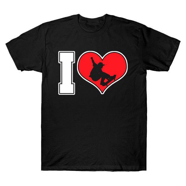 Camiseta Eu amo Skate