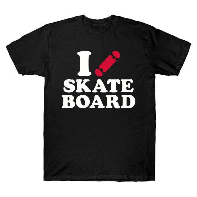 Camiseta Skatista masculina preta