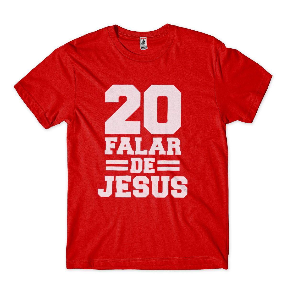 Camiseta Evangelica Masculina Camisa Gospel Jesus Numero 20