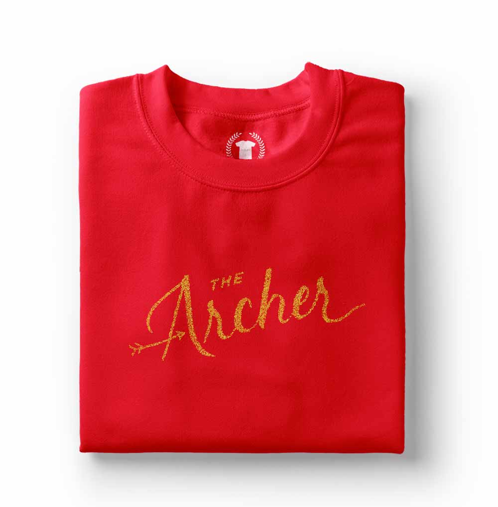 Camiseta femiina The Archer Taylor Swift vermelha