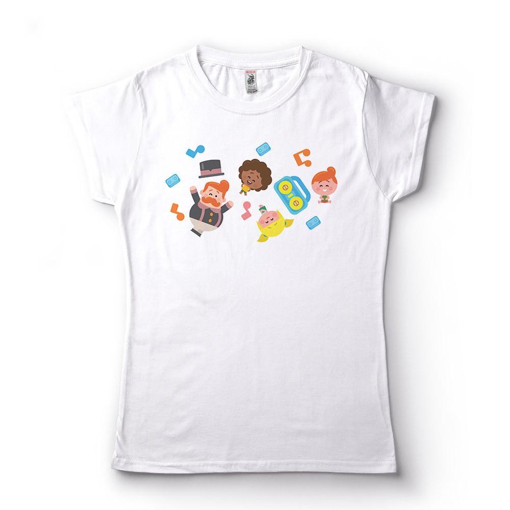 Camiseta Feminina Babylook Bita Personalizada