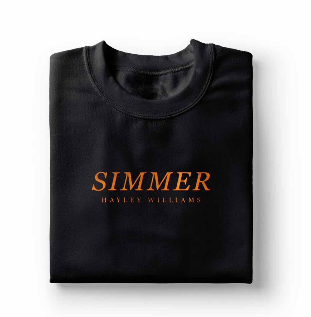 camiseta feminina Hayley Williams Simmer